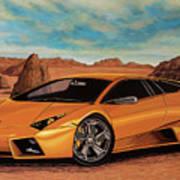 Lamborghini Reventon 2007 Painting Art Print