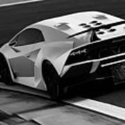 Lamborghini Sesto Elemento - 10 Art Print