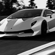 Lamborghini Sesto Elemento - 20 Art Print