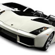 Lamborghini Super Cars Art Print
