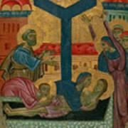 Lamentation Of The Dead Christ Art Print