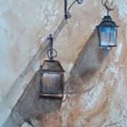 Lamps Art Print