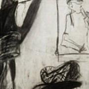 Lampshade Drama Art Print