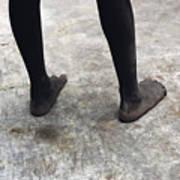 Lamu Feet Art Print