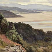 Lancaster Sands Art Print