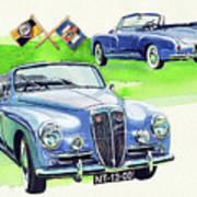 Lancia Aurelia B50 Art Print