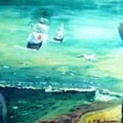 Land Ahoy Art Print
