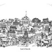 Land Of Lincoln Art Print