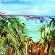 Land Sea And Sky Art Print