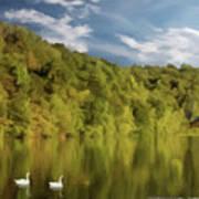 Landingville Lake Pennsylvania Art Print