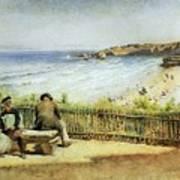 Landscape 02 Konstantin Makovsky Art Print