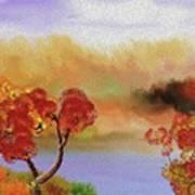 Landscape 031111 Art Print