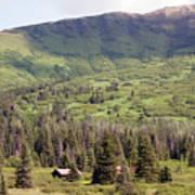 Landscape Alaska  Art Print