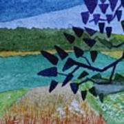 Landscape Angles Art Print