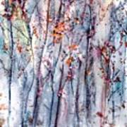 Landscape At Dusk Art Print