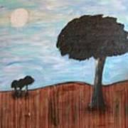Landscape - Distant Cousins Art Print