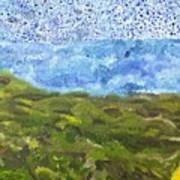 Landscape Dots Art Print
