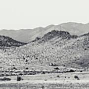 Landscape Galisteo Nm J10a Art Print