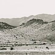 Landscape Galisteo Nm J10b Art Print