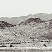 Landscape Galisteo Nm J10c Art Print
