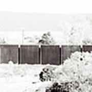 Landscape Galisteo Nm J10h Art Print