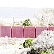 Landscape Galisteo Nm J10l Art Print