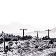 Landscape Galisteo Nm J10u Art Print