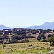 Landscape Galisteo Nm K10h Art Print