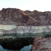 landscape in Hoover dam Art Print
