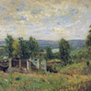 Landscape In Summer Art Print