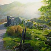 Landscape In Wales Art Print