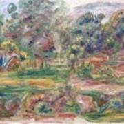 Landscape Near Cagnes Art Print