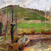 Landscape Near Pont-aven Art Print