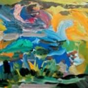 Landscape Palette Art Print