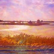 Landscape With Island 008 01 01 2016 Art Print