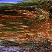 Landscape With Sky Reflected Art Print