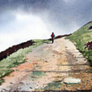 Lane To Quarry Pole Moor Art Print