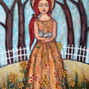 Laney Art Print by Rain Ririn