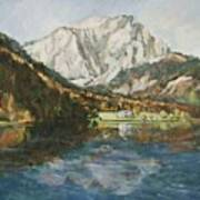 Langbathsee Austria Art Print
