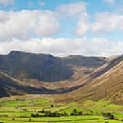 Langdale Fell And Pikes Panorama Art Print