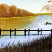 Langford Bay Art Print