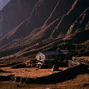 Langtang Village Art Print