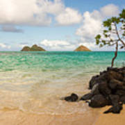 Lanikai Beach 1 - Oahu Hawaii Art Print