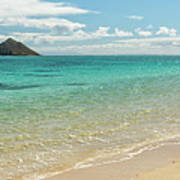 Lanikai Beach 4 Pano - Oahu Hawaii Art Print