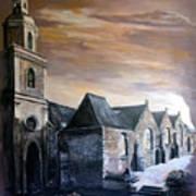 Lanrelas Church  Art Print