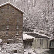 Lanterman's Mill Art Print