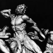 Laocoon And His Sons Aka Gruppo Del Laocoonte Art Print