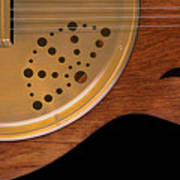 Lap Guitar I Art Print