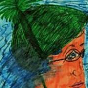 Lap Swim Art Print