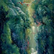 Lapa Rios Art Print